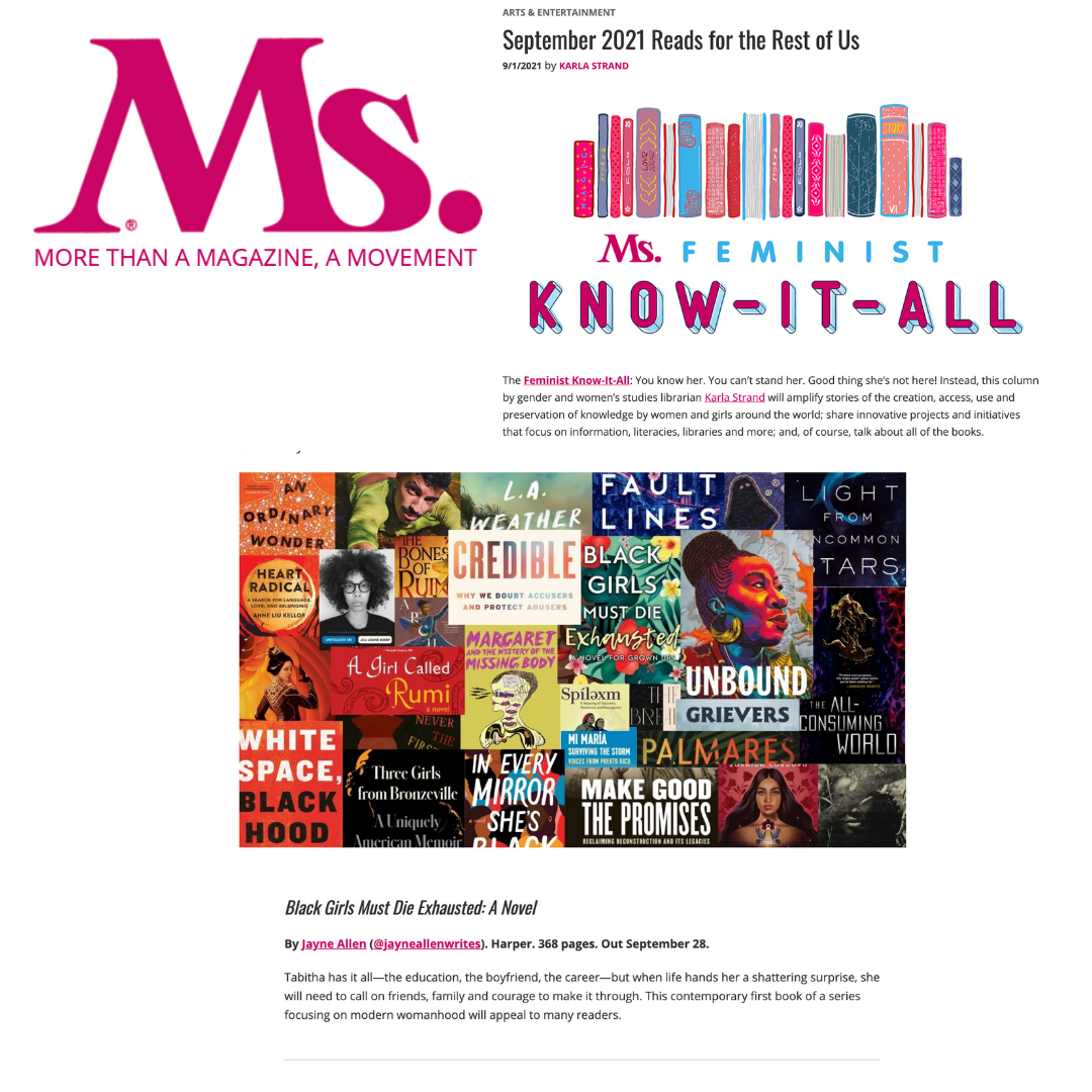 BGMDE Featured by Ms. Magazine – September 2021 Reads