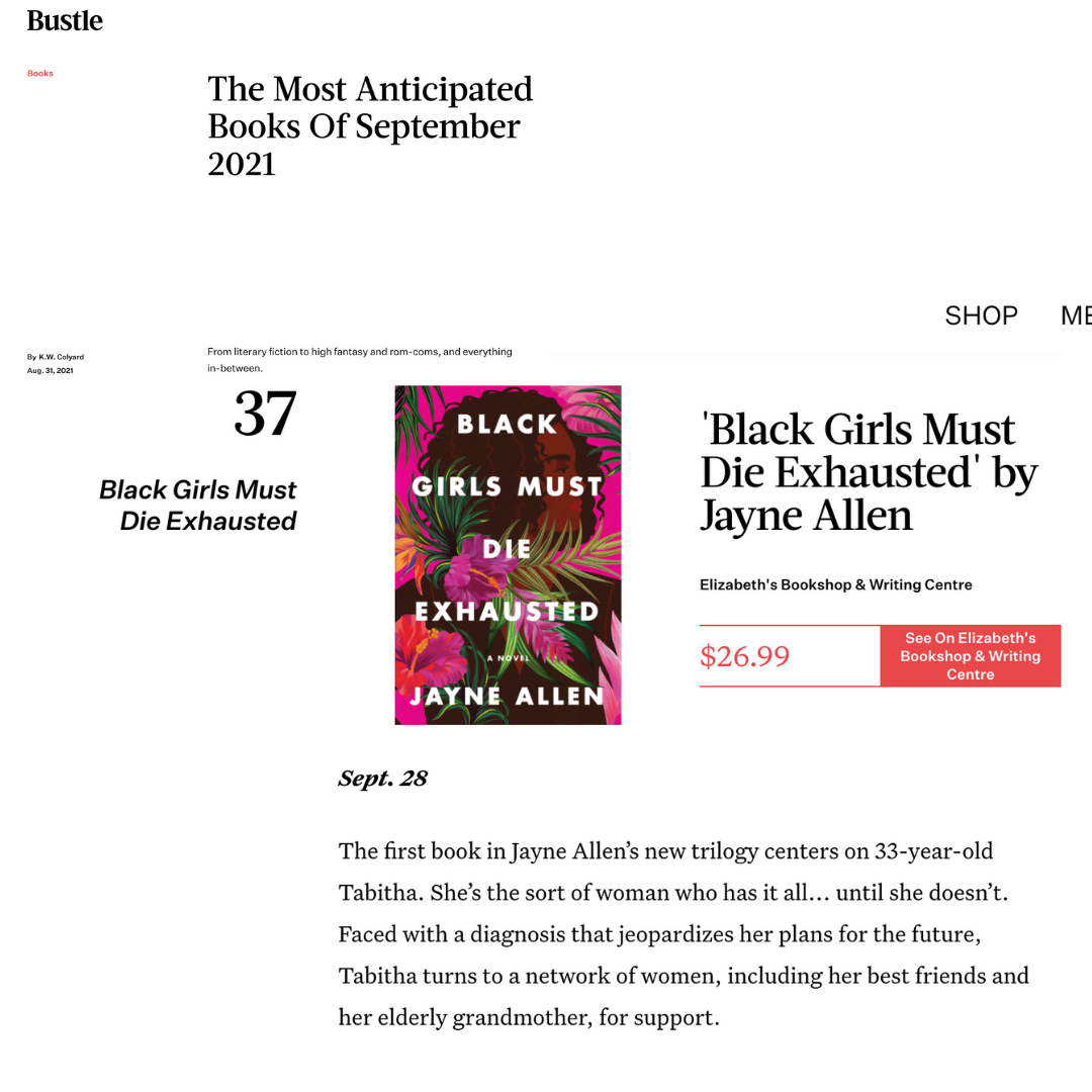 BGMDE is one of Bustle's Most Anticipated Books for September 2021