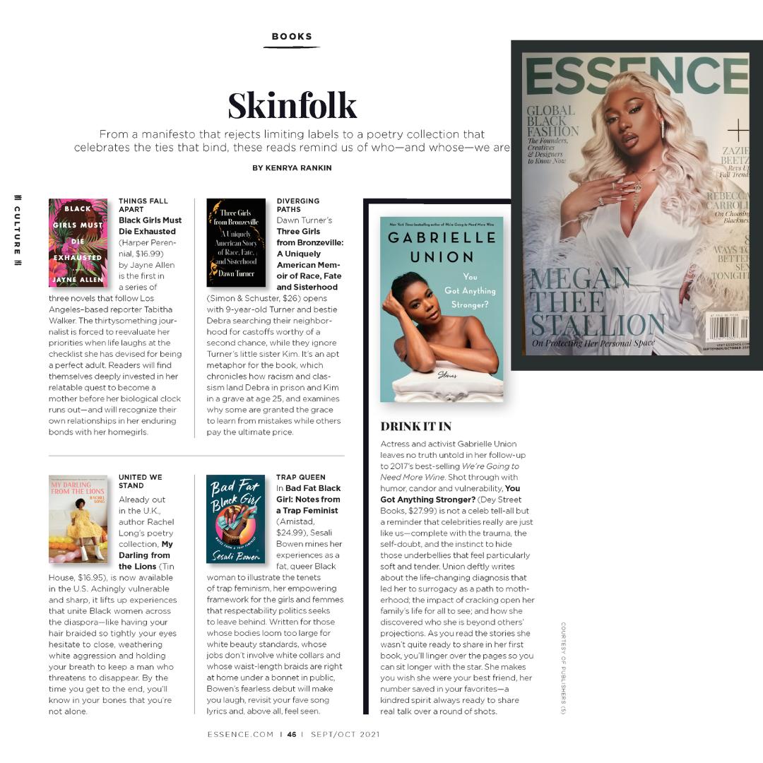 Hot Girl September – BGMDE featured in Essence Magazine
