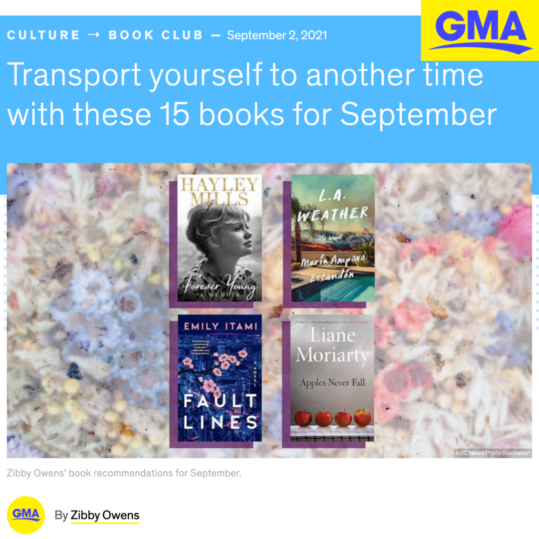 GMA – BGMDE Featured in 15 Books for September